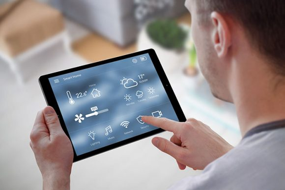 Smart heating and cooling control