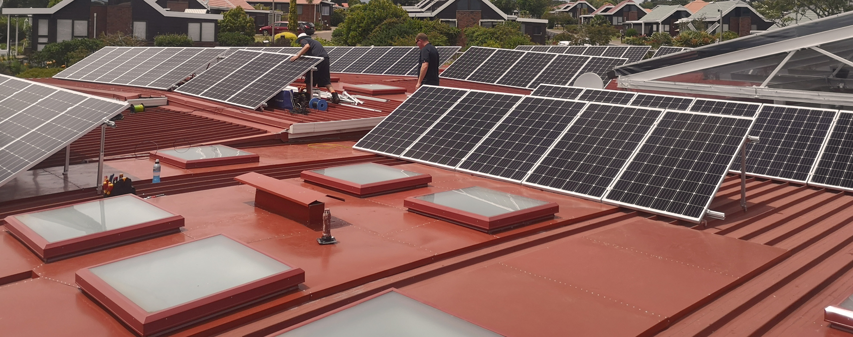 Solar on Retirement Village Rooftop