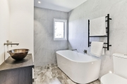 Bathroom style in white