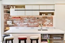 Scandi style kitchen cabinets