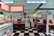 1950's themed diner