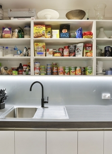 Compact scullery