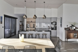 Contemporary industrial style kitchen