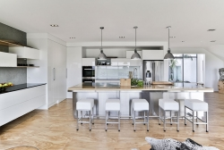 This kitchen is so pleasing on the eye