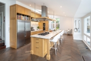 Solid timber kitchen