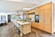 Large timber kitchen