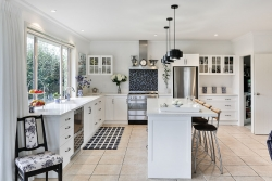 Stylish country kitchen