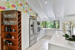 Eclectic kitchen L shaped
