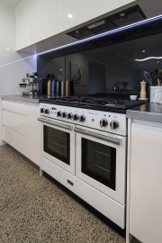Falcon Professional double oven with gas hobs