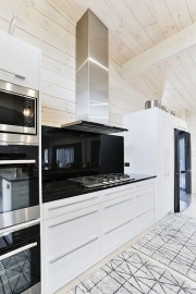 Wall ovens and gas stovetop