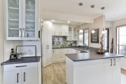 Add personality to your kitchen with a printed splashback