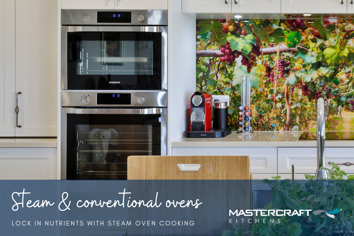 Steam and conventional ovens