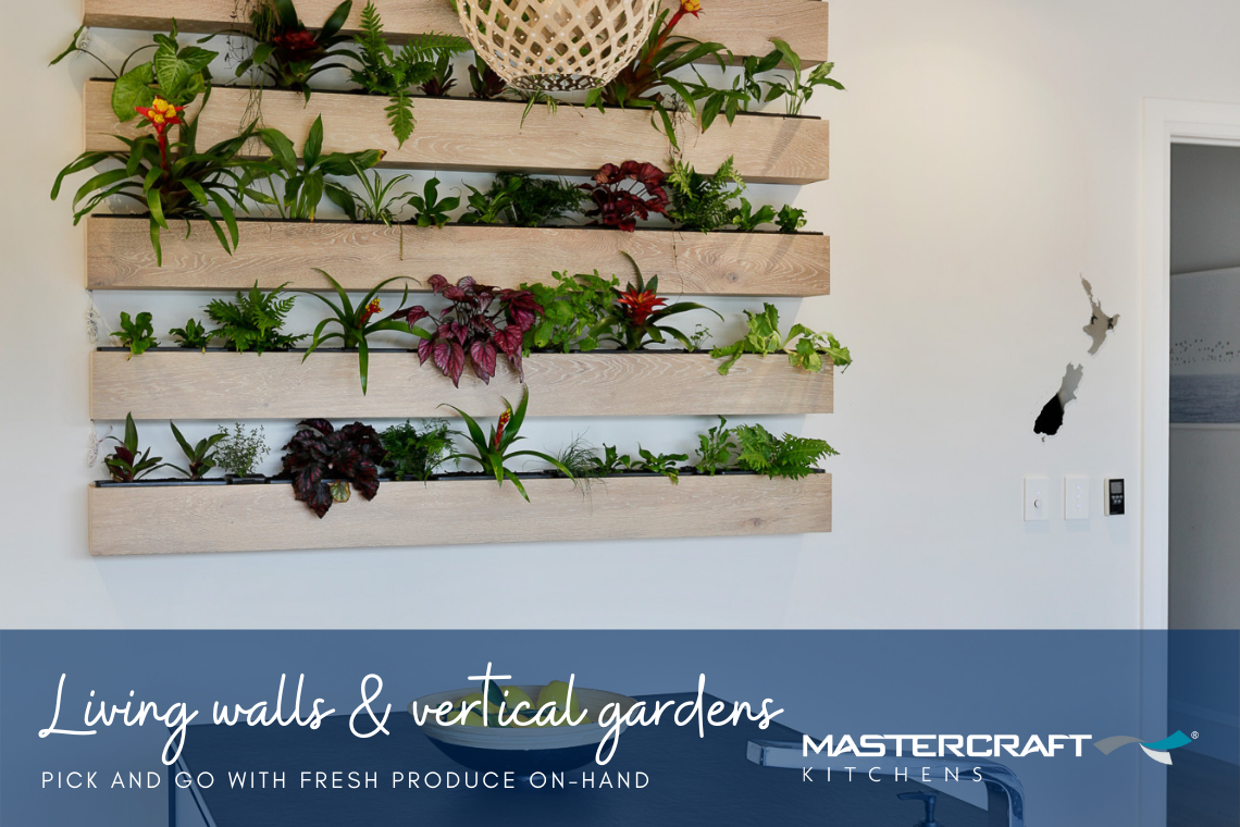 Living walls and vertical gardens
