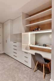 Office in-built cabinetry