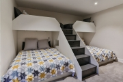 Bunk beds that sleep four