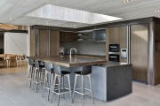 Pivoting breakfast bar