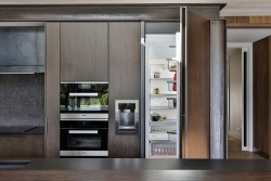 Integrated fridge and wall appliances