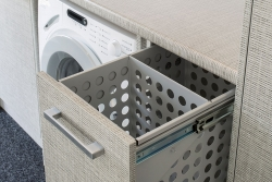 Pull-out laundry hamper