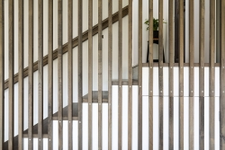 Stairway timber panels