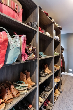 Show off your shoes and handbags