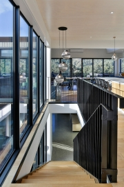 timber and steel staircase