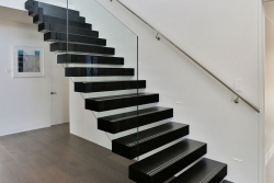 Black Floating Stairs