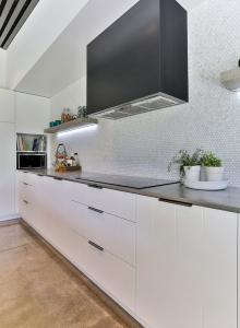 Shine On - V-groove cabinetry
