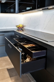 Class Act - Black Cabinetry