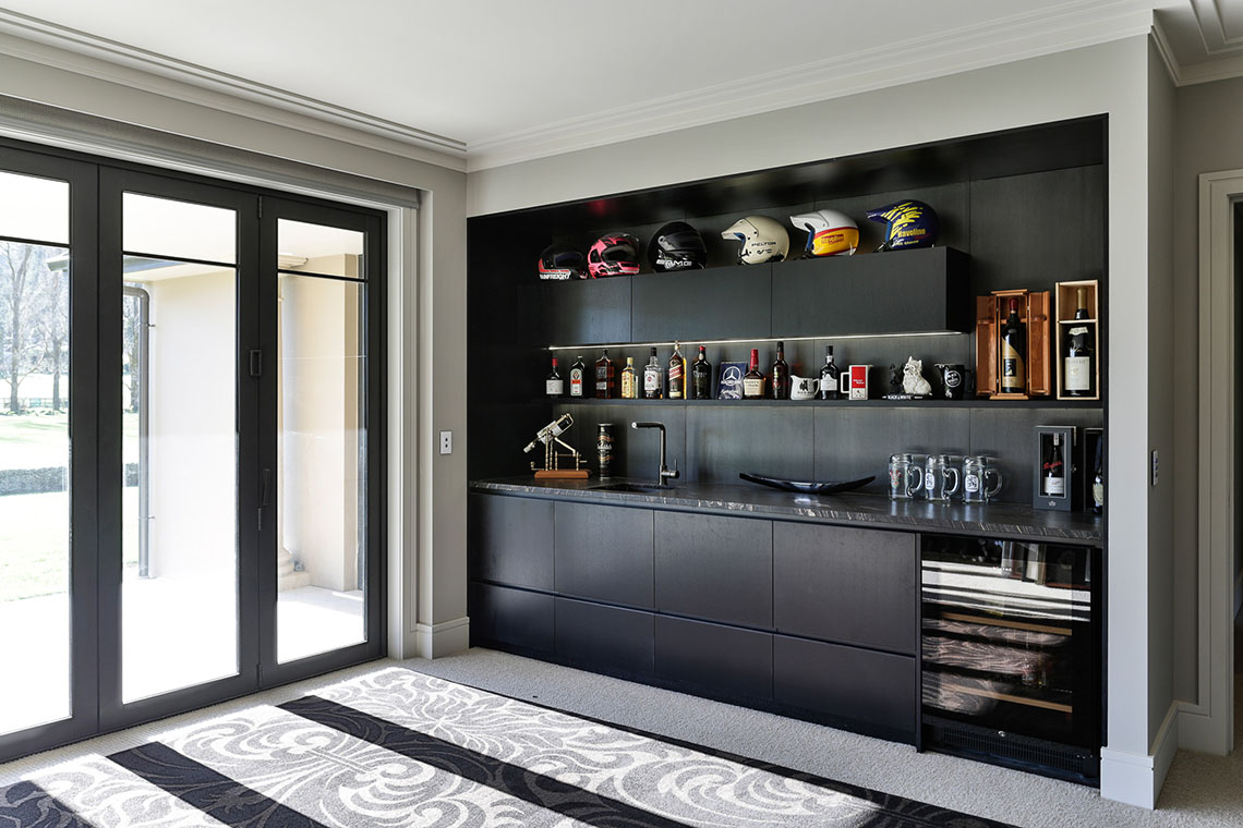 Black Tie Event - Bar Cabinets