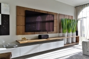 TV Entertainment Unit/Floating Shelves