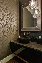 Sumptuous Powder Room