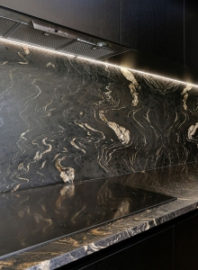 Black Tie Event - Granite Splashback