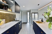 Bold as Brass - Galley Kitchen