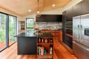 Sapele Timber veneer kitchen