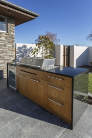 Outdoor kitchen custom made