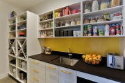 Scullery with a pop of colour