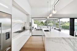 From the main kitchen to outdoor entertaining area