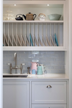 Country kitchen style scullery