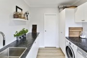 Scullery and laundry share a room