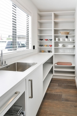 Scullery with sink