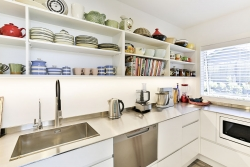 Stainless steel scullery bench
