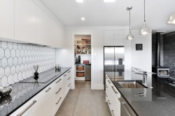 Butlers pantry from main kitchen