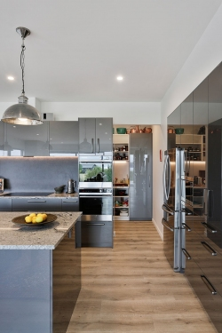 A cooks kitchen and scullery