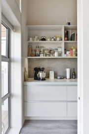 Scullery outside door
