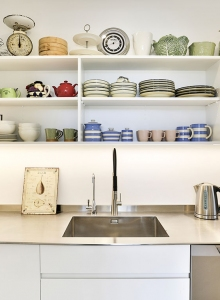 Scullery shelves