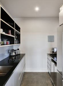Scullery and coffee, drinks station