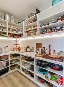 A cooks scullery