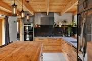 Industrial edge kitchen