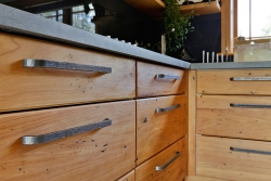 Industrial style drawer handles
