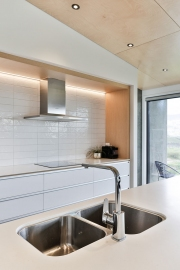 double under-mount stainless steel sink
